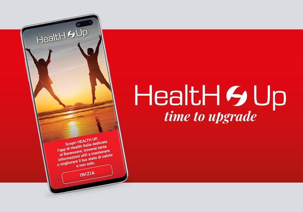 Health Italia Presenta Health Up L App Dedicata Al Benessere A 360 Healthitalia S P A