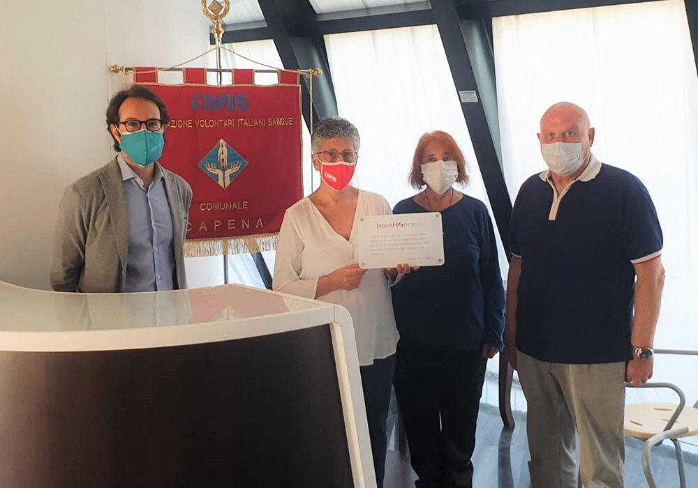 Health Point S.p.A. dona a titolo gratuito due station ad A.V.I.S. Regionale Lazio